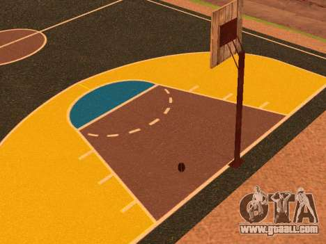 New basketball court for GTA San Andreas sixth screenshot