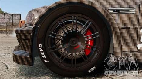 BMW M3 GTR 2012 Drift Edition for GTA 4 back view