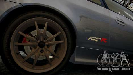 Honda Mugen Integra Type-R 2002 for GTA 4 back view