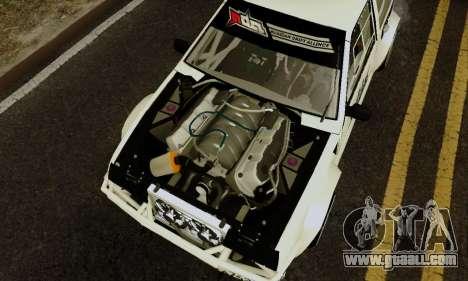 VAZ 2108 RDA for GTA San Andreas back view