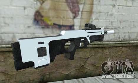 F6 Assault Rifle for GTA San Andreas second screenshot