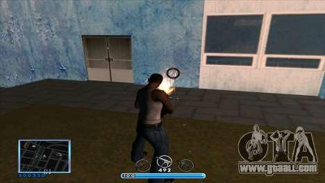 C-HUD by Andr1k for GTA San Andreas third screenshot