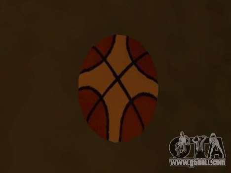 New basketball company Molten for GTA San Andreas