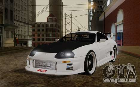 Toyota Supra TRD for GTA San Andreas