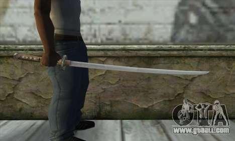 Sword for GTA San Andreas third screenshot