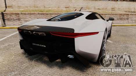 Jaguar C-X75 [EPM] Carbon Series for GTA 4 back left view