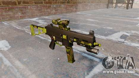 The submachine gun UMP45 for GTA 4