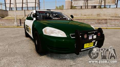 Chevrolet Impala 2010 Broward Sheriff [ELS] for GTA 4
