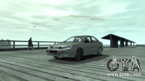 Daewoo Leganza for GTA 4 left view