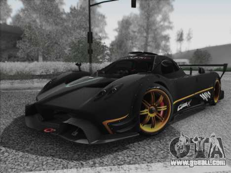 Pagani Zonda R 2009 for GTA San Andreas