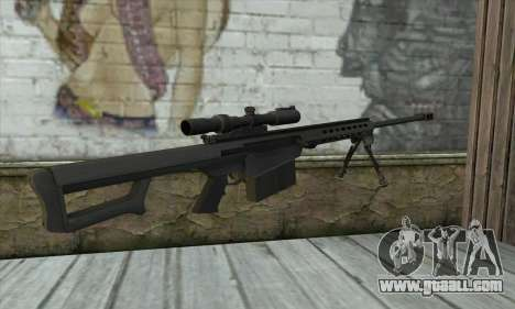 M82A3 for GTA San Andreas second screenshot