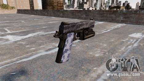 Semi-automatic pistol Kimber for GTA 4 second screenshot