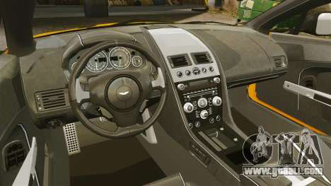 Aston Martin V12 Vantage S 2013 for GTA 4 inner view