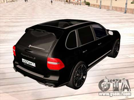 Porsche Cayenne Turbo S 2010 Stock for GTA San Andreas side view