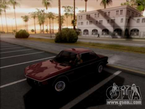 BMW 3.0 CSL 1971 for GTA San Andreas right view
