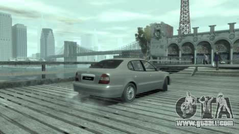 Daewoo Leganza for GTA 4 right view