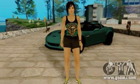 Kokoro A7X for GTA San Andreas forth screenshot