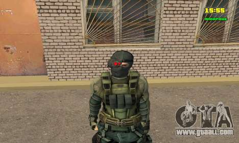 Кестрел Splinter Cell Conviction for GTA San Andreas