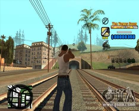 C-HUD Los Santos Vagos Gang for GTA San Andreas