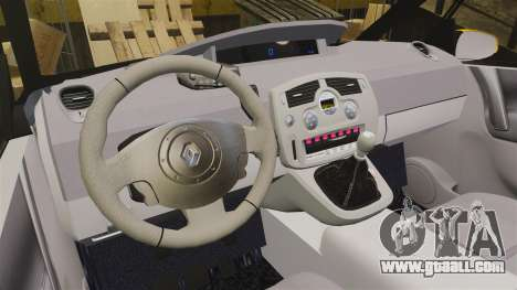 Renault Espace Police Nationale [ELS] for GTA 4 inner view