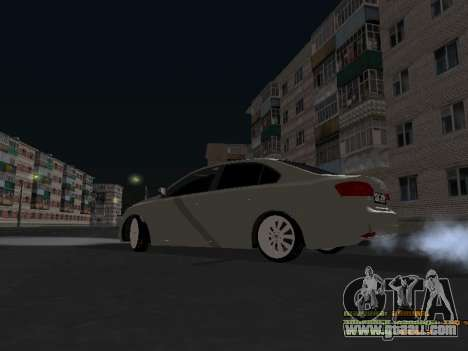 Volkswagen Jetta for GTA San Andreas back view