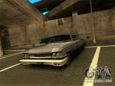 Cadillac Stella 1959 for GTA San Andreas right view