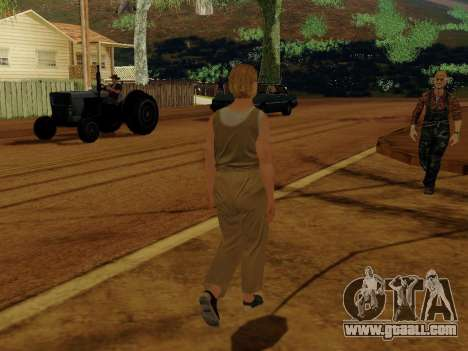 Elderly woman for GTA San Andreas forth screenshot
