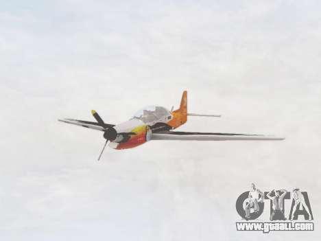 Embraer T-27 Tucano 30 Anos for GTA San Andreas