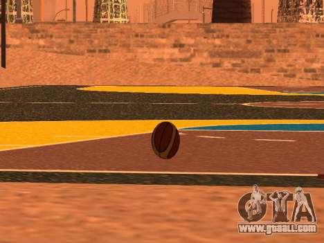 New basketball company Molten for GTA San Andreas forth screenshot