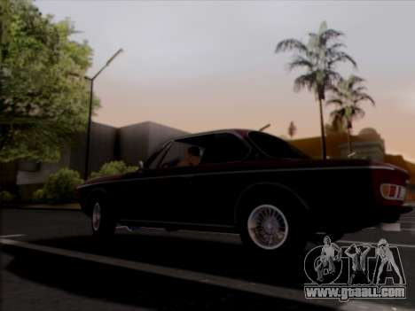 BMW 3.0 CSL 1971 for GTA San Andreas back view