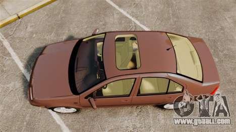 Volkswagen Bora 1.8T Camel for GTA 4 right view