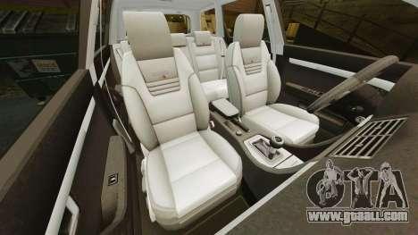 Audi S4 Avant Hungarian Police [ELS] for GTA 4 upper view