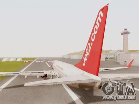 Boeing 737-800 Jet2 for GTA San Andreas right view