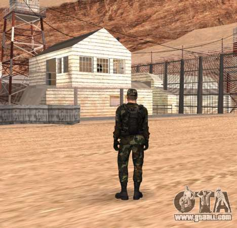 Army HD for GTA San Andreas second screenshot