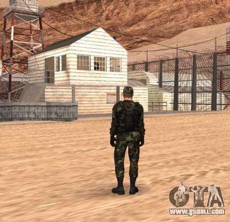 Army HD for GTA San Andreas second screenshot