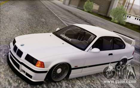 BMW M3 E36 Hellaflush for GTA San Andreas