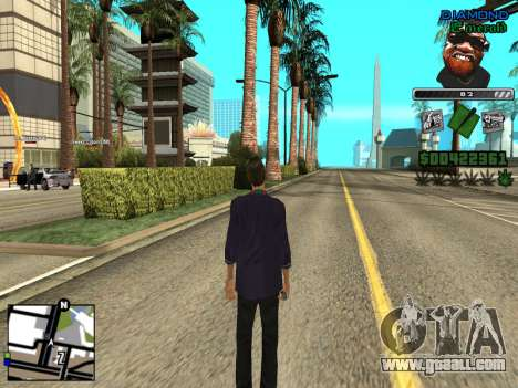 C-HUD by Misterio for GTA San Andreas second screenshot