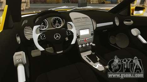 Mercedes-Benz SLK 55 AMG 2014 v1.4 for GTA 4 inner view