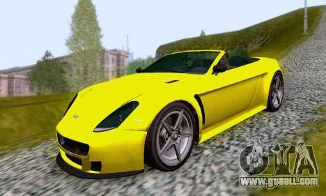 GTA V Rapid GT Cabrio for GTA San Andreas