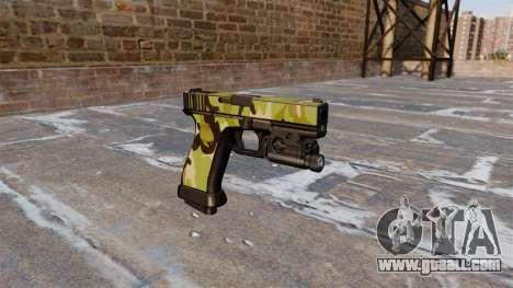 Pistol Glock 20 WoodLand for GTA 4