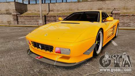 Ferrari Testarossa 512 TR v2.0 for GTA 4