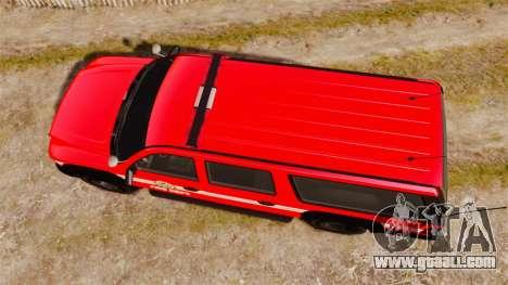 GTA V Declasse Granger LSFD for GTA 4 right view