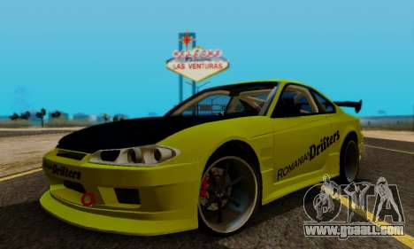 Nissan Silvia S15 Romanian Drifters for GTA San Andreas side view