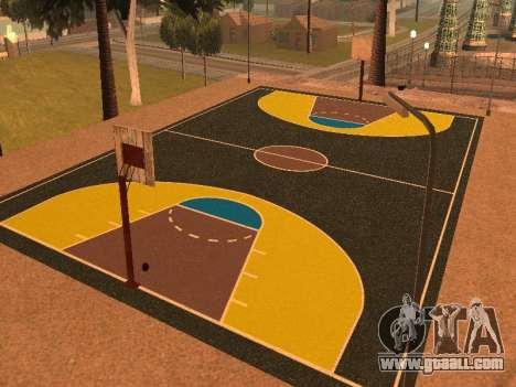 New basketball court for GTA San Andreas second screenshot