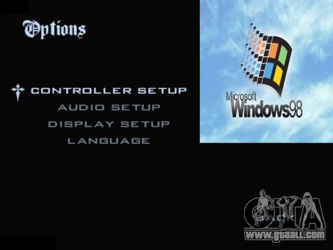 The Windows Menu for GTA San Andreas forth screenshot