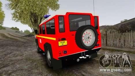 Land Rover Defender VLHR SDIS 42 [ELS] for GTA 4 back left view