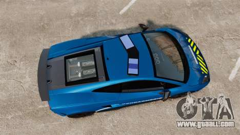 Lamborghini Gallardo Gendarmerie National [ELS] for GTA 4 right view