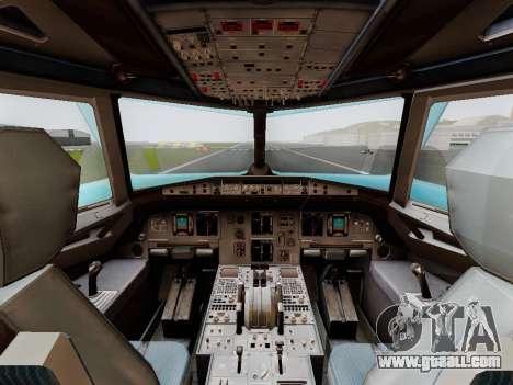 Airbus A320 Air China for GTA San Andreas right view