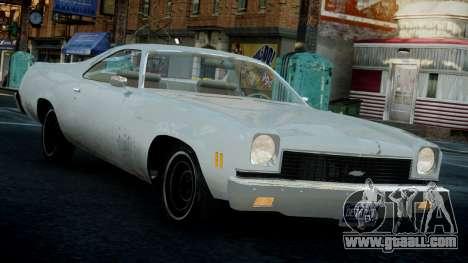 Chevrolet El Camino 1973 Old for GTA 4