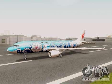Airbus A320 Air China for GTA San Andreas